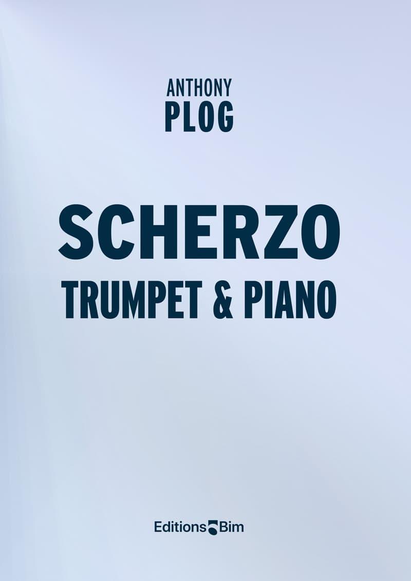 Plog Anthony Scherzo Trumpet Piano Tp314