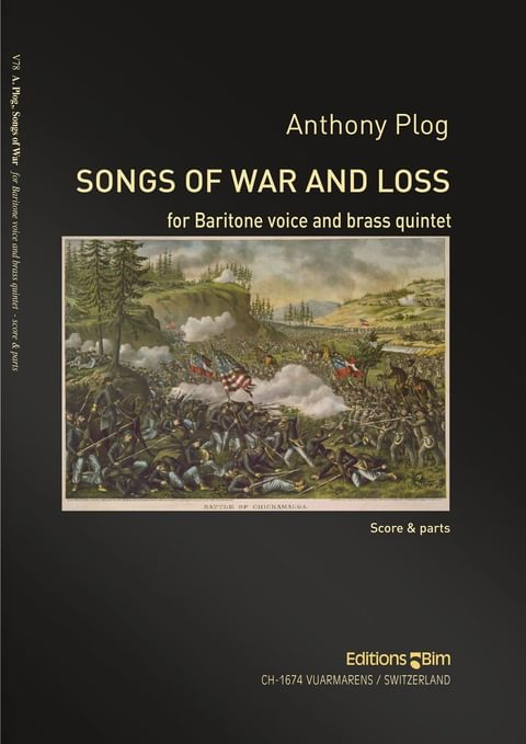 Plog Anthony Songs Of War And Loss V78