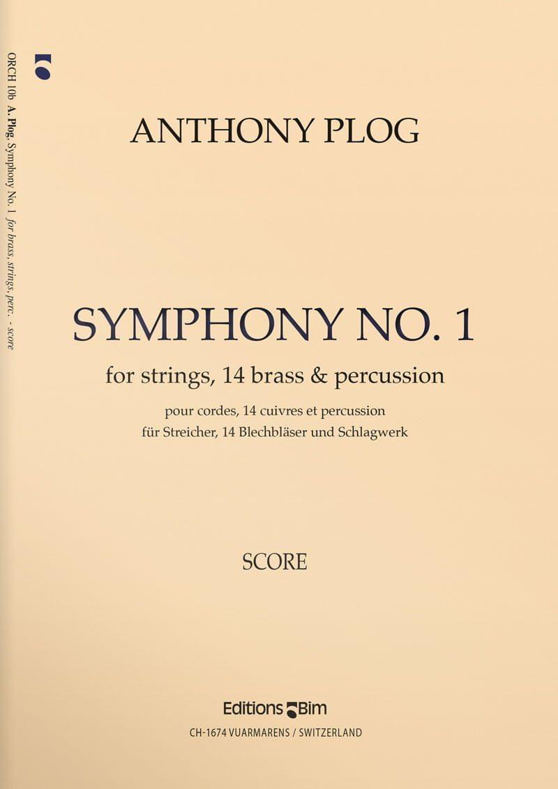 Plog Anthony Symphony 1 Orch10