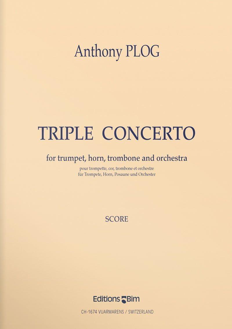 Plog Anthony Triple Concerto Ens68B