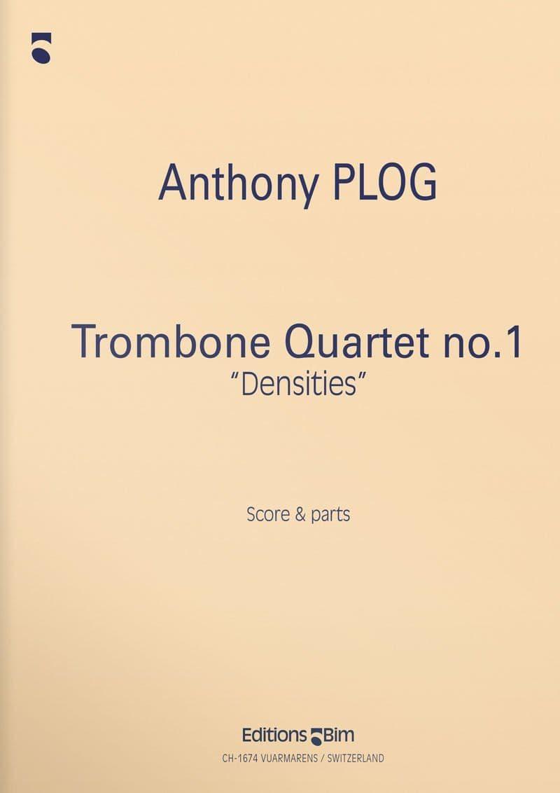 Plog Anthony Trombone Quartet No 1 Tb33