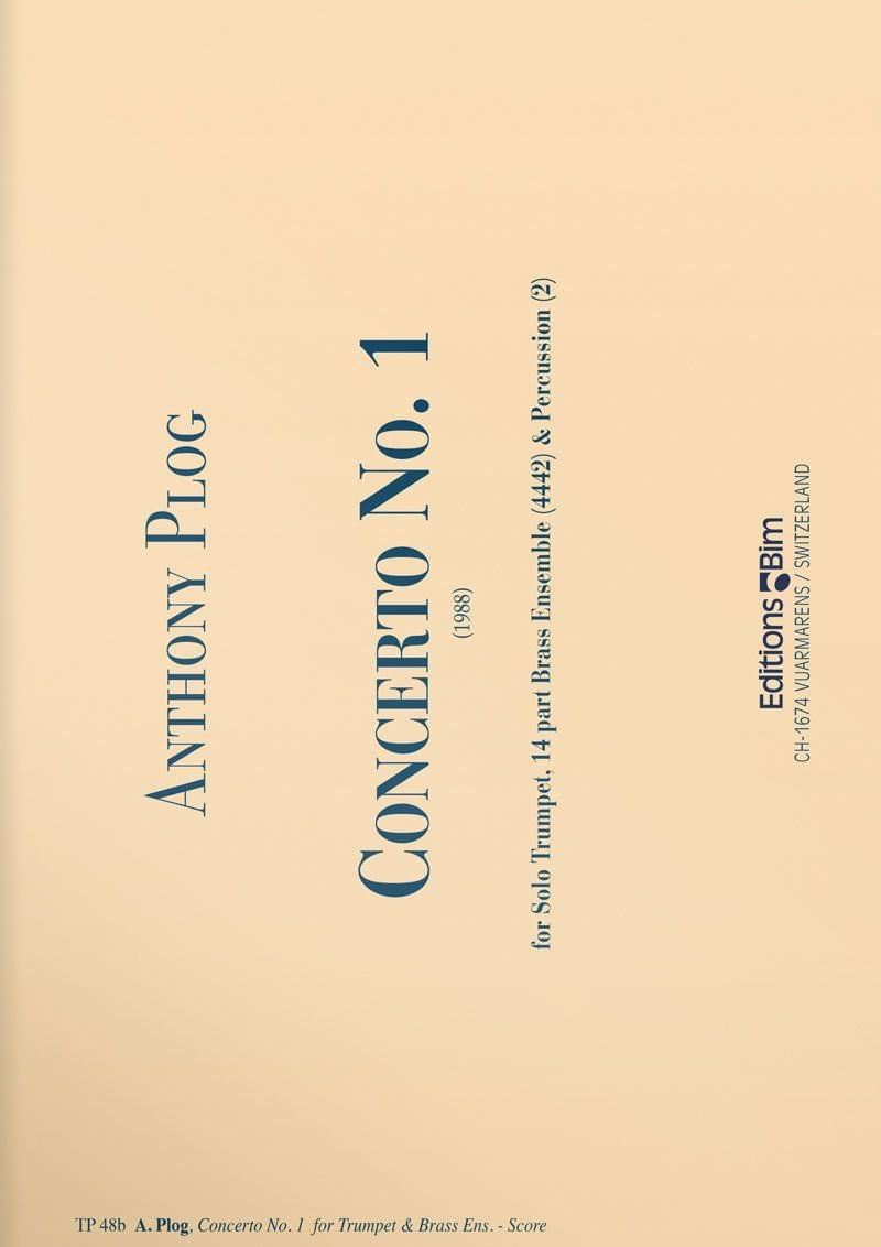 Plog Anthony Trumpet Concerto 1 Tp48B