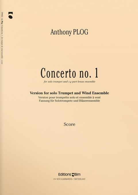 Plog Anthony Trumpet Concerto 1 Tp48D
