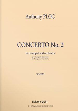 Plog Anthony Trumpet Concerto 2 Tp80