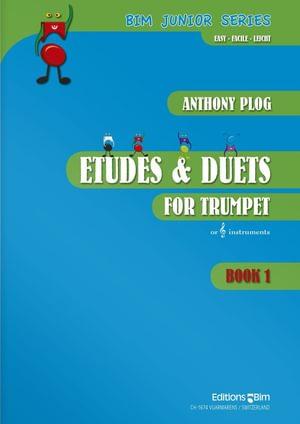 Plog Anthony Trumpet Etudes Duets Vol 1 Tp53