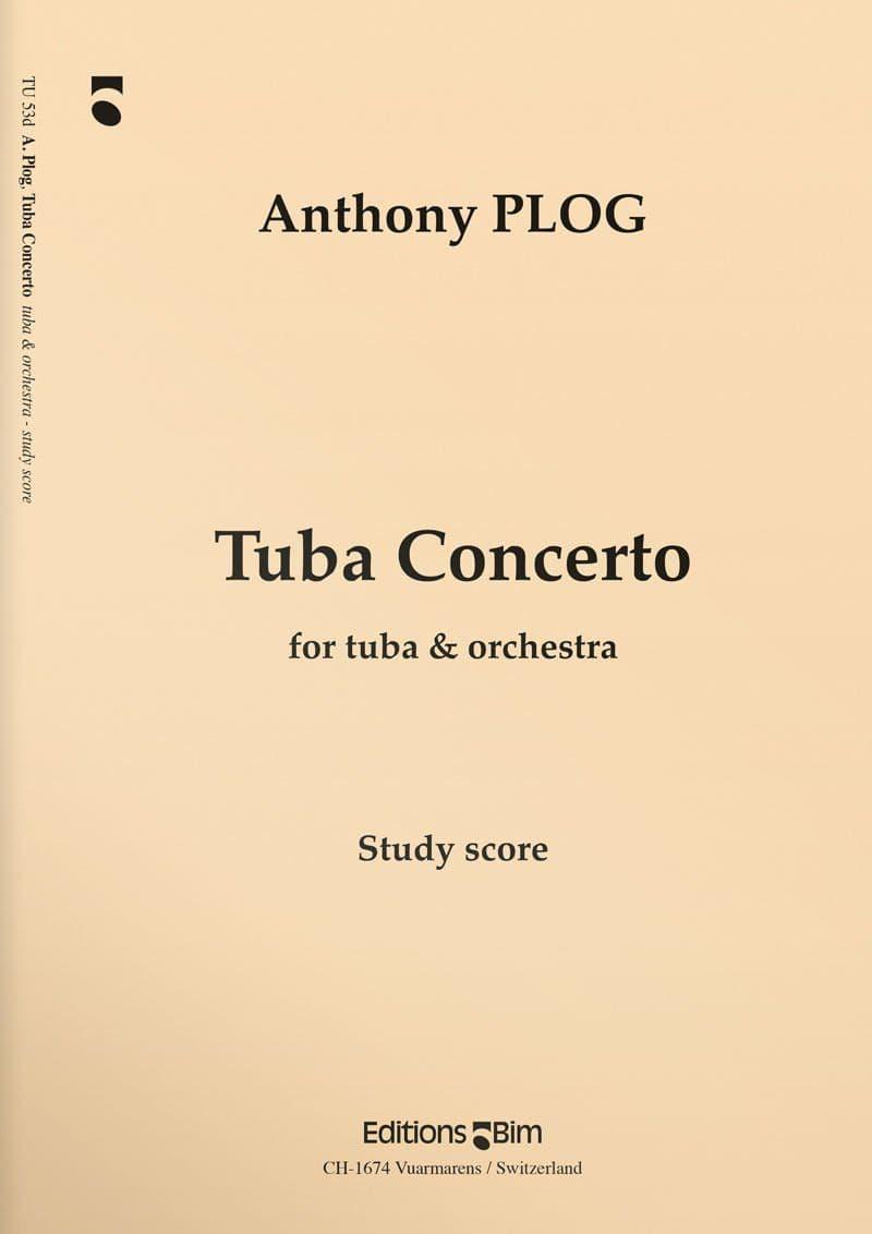 Plog Anthony Tuba Concerto Tu53