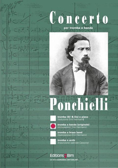 Ponchielli Amilcare Concerto Trumpet Tp9B