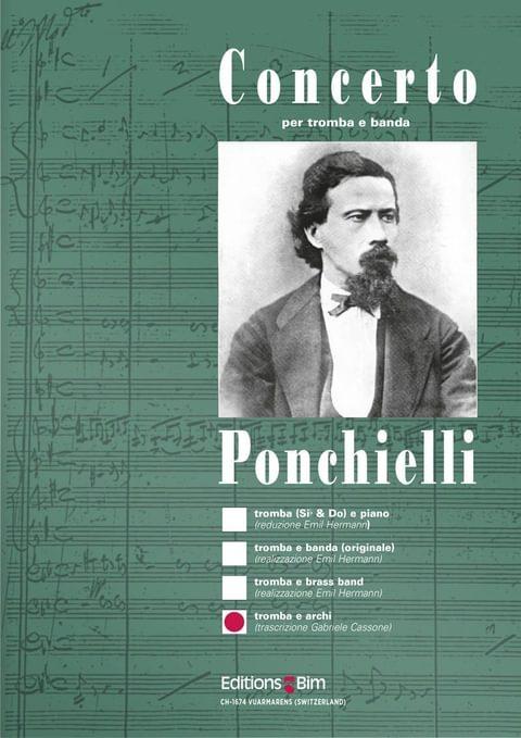 Ponchielli Amilcare Concerto Trumpet Tp9F