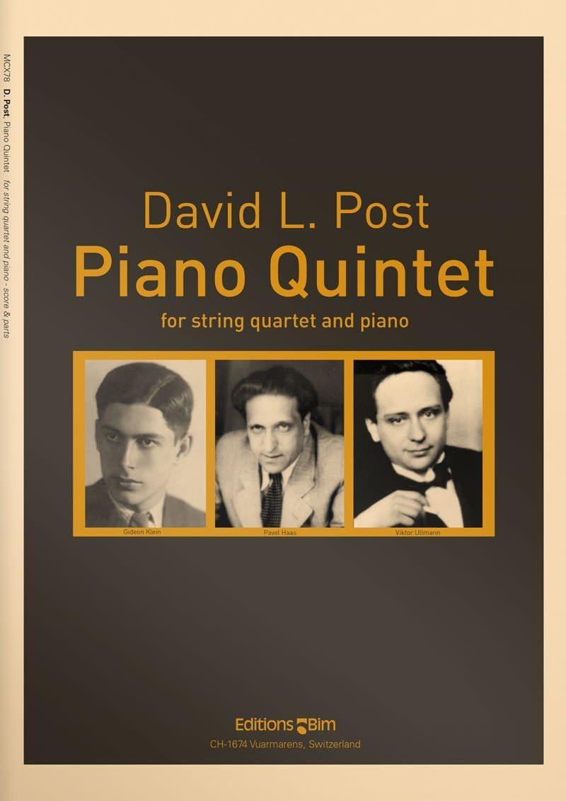 Post David Piano Quintet Mcx78
