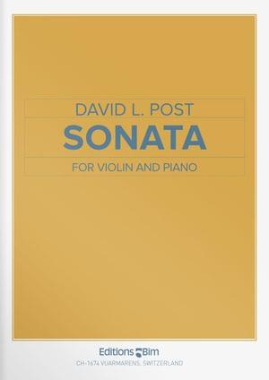 Post David Violin Sonata Vn26