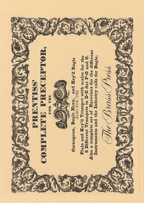 Prentiss Henry Complete Preceptor Tp189