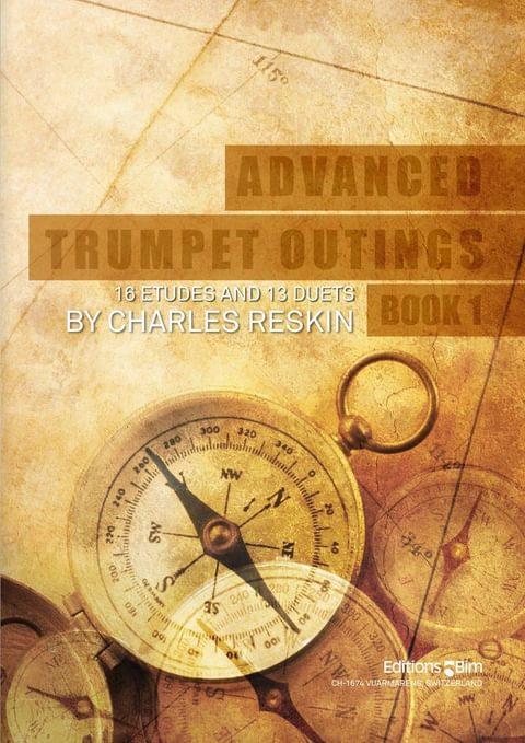 Reskin Charles Advanced Trumpet Outings Bk 1 Tp269