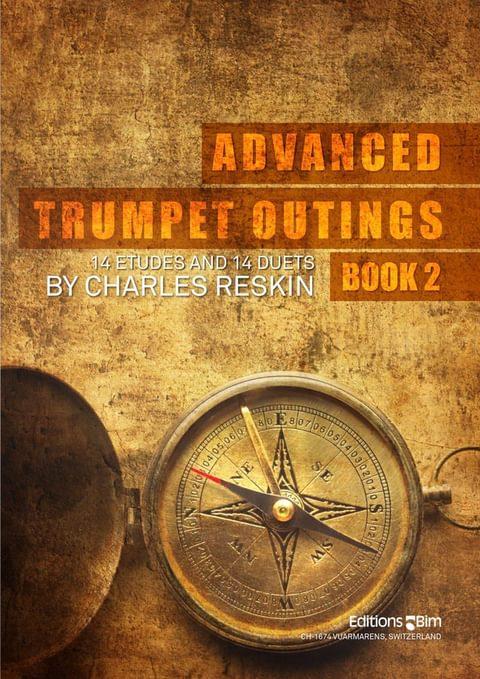 Reskin Charles Advanced Trumpet Outings Bk 2 Tp311