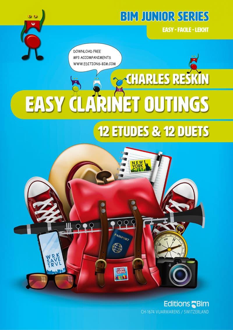 Reskin Charles Easy Clarinet Outings Cl37