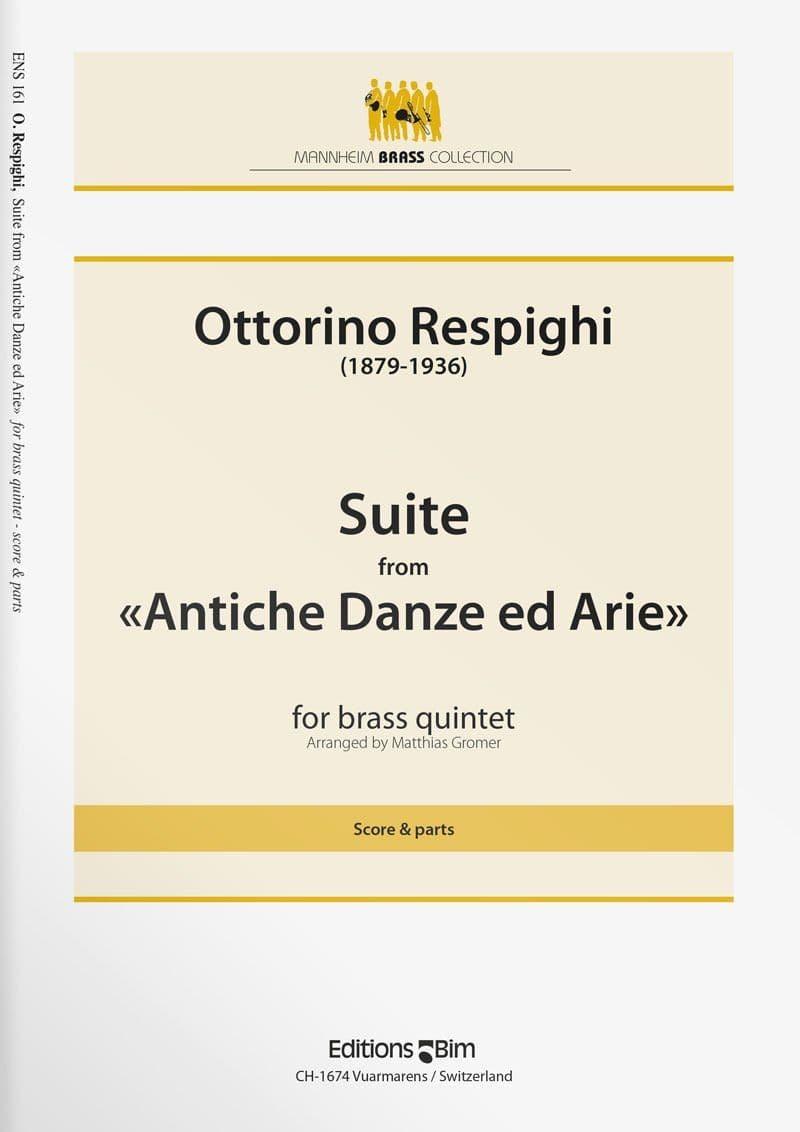 Respighi Ottorino Suite From Antiche Danze Ens161