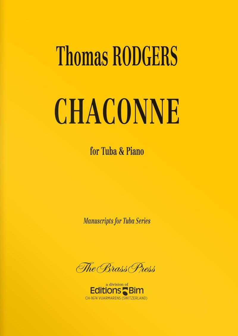Rodgers Thomas Chaconne Tu60