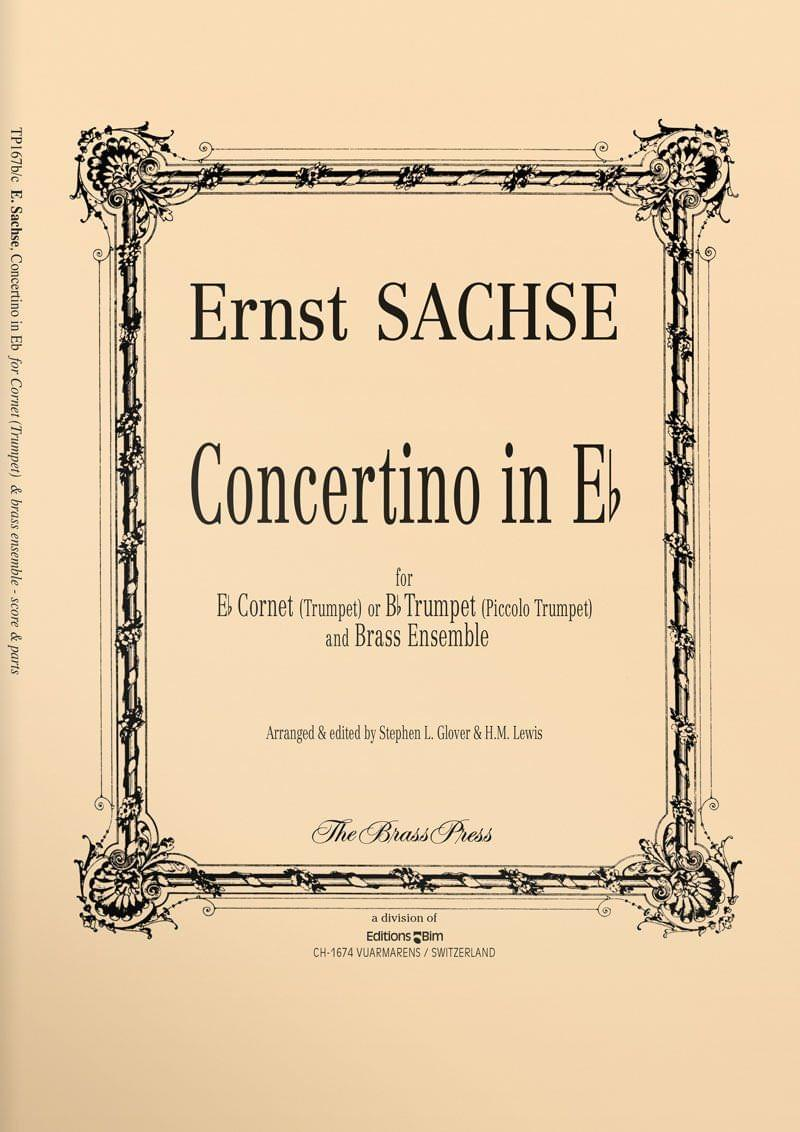Sachse  Ernst  Concertino In  E Flat  Tp167