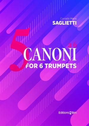 Saglietti Corrado Maria 5 Canoni A 6 Tb280