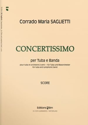 Saglietti  Corrado  Maria  Concertissimo  Tu52