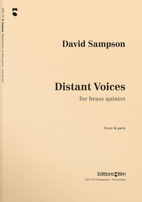 Sampson  David  Distant  Voices  Ens137