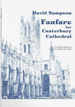 Sampson  David  Fanfare  Canterbury  Cathedral  Ens91