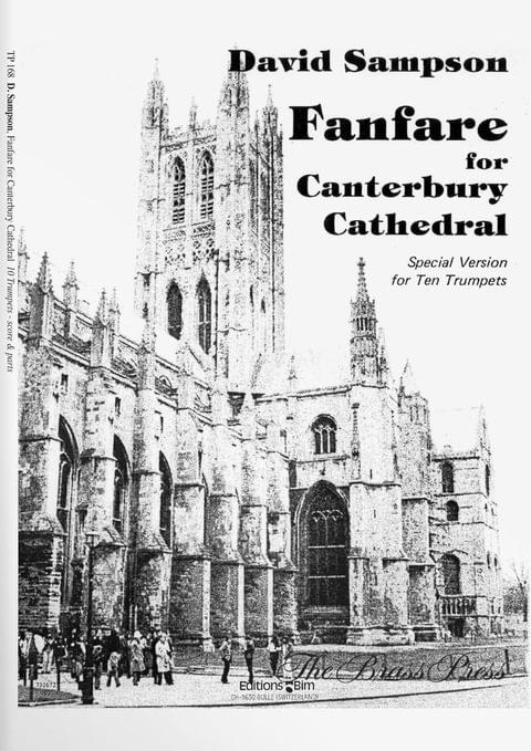 Sampson  David  Fanfare  Canterbury  Cathedral  Tp168