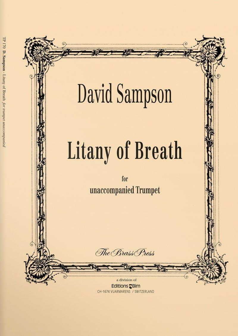 Sampson  David  Lintany Of  Breath  Tp170