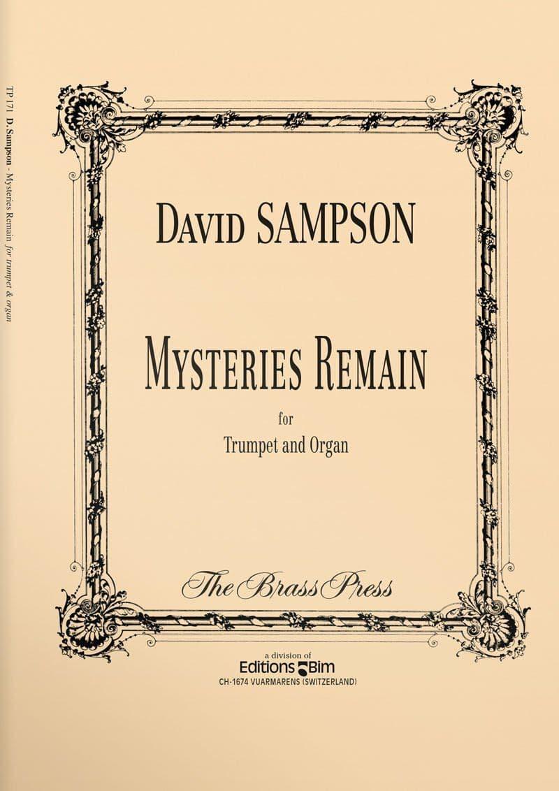 Sampson  David  Mysteries  Remain  Tp171