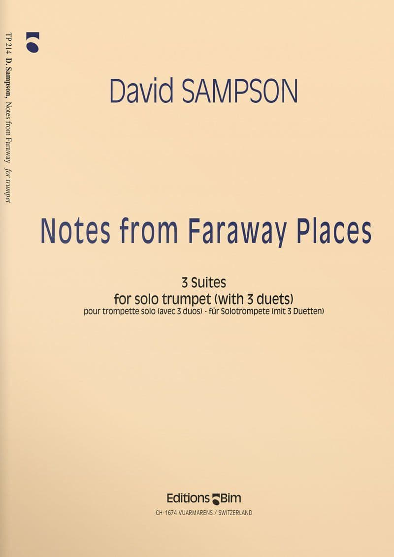 Sampson  David  Notes From  Faraway  Places  Tp214