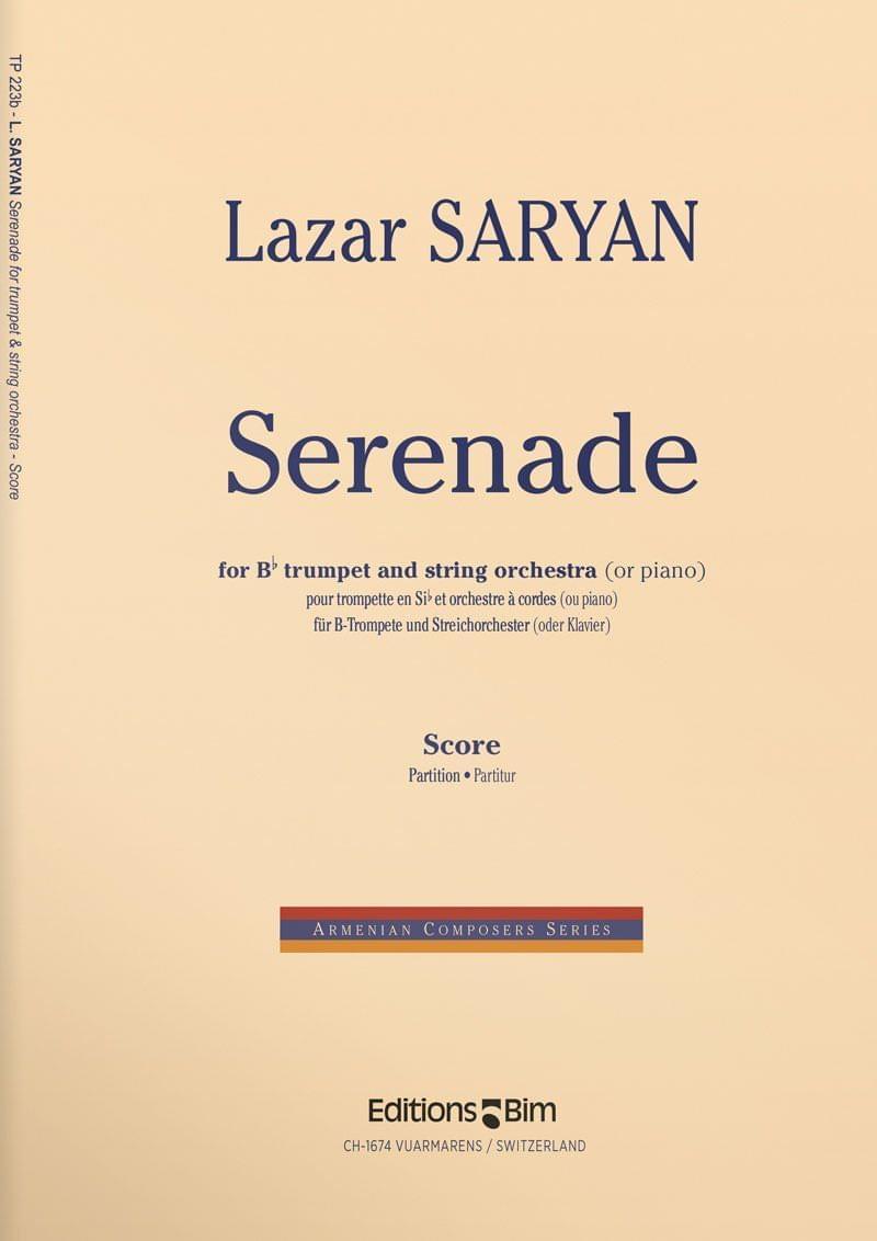 Saryan  Lazar  Serenade  Tp223