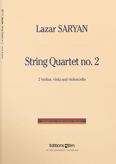 Saryan  Lazar  String  Quartet  No 2  Qc5