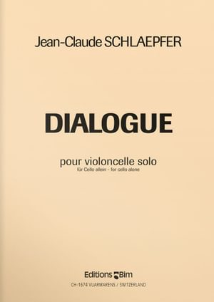 Schlaepfer  Jean  Claude  Dialogue  Vc6