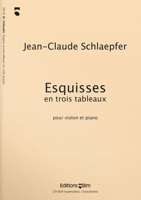 Schlaepfer  Jean  Claude  Esquisses  Vn18