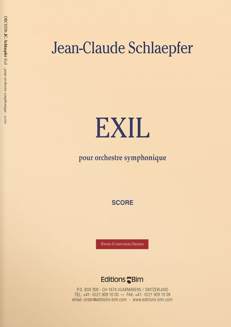 Schlaepfer  Jean  Claude  Exil  Orch20