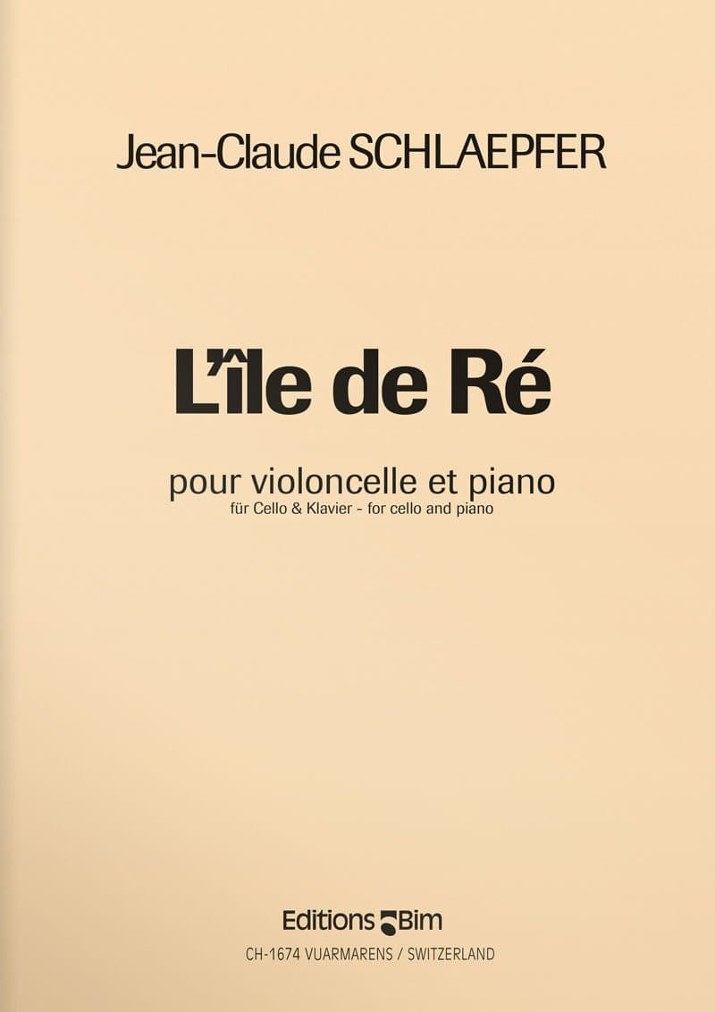 Schlaepfer  Jean  Claude  Ile De  Re  Vc5