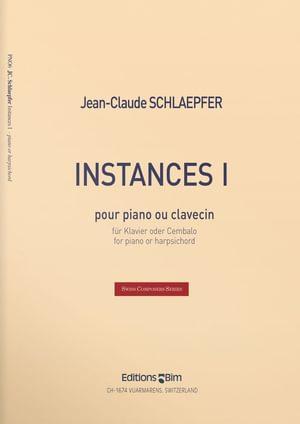 Schlaepfer  Jean  Claude  Instances  I  Pno6