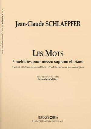 Schlaepfer  Jean  Claude  Les  Mots  V13