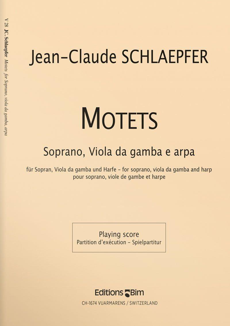 Schlaepfer  Jean  Claude  Motets  V28