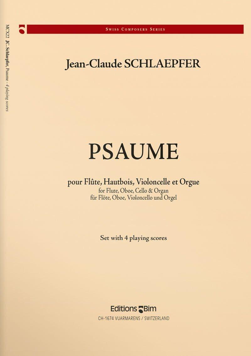 Schlaepfer  Jean  Claude  Psaume  Mcx22