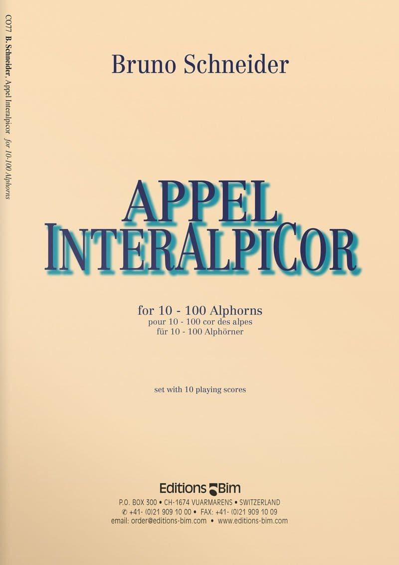 Schneider  Bruno  Appel  Inter Alpi Cor  Co77