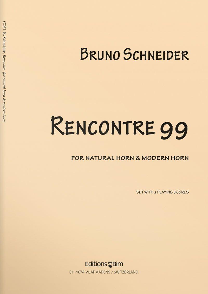 Schneider  Bruno  Rencontres 99  Co67