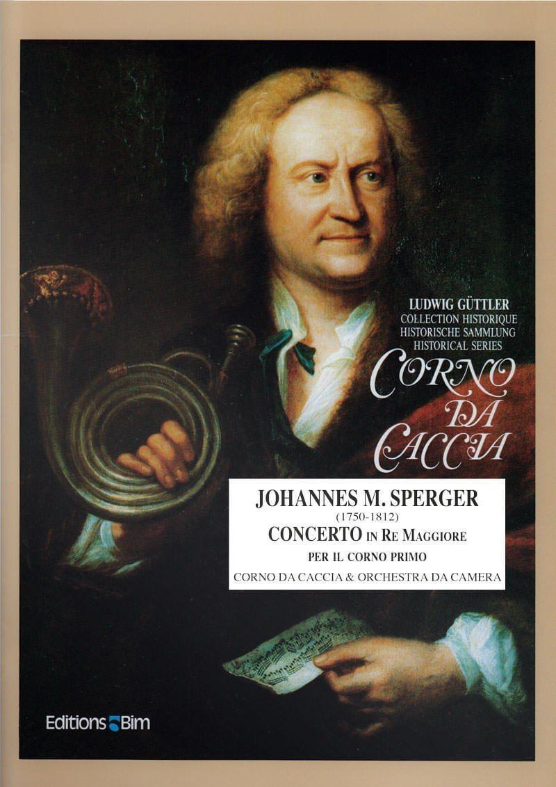 Sperger  Johannes  Concerto  Re  Maggiore  Co3