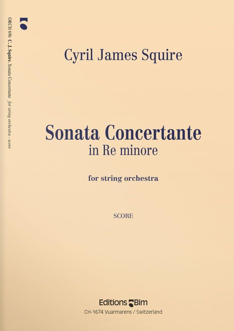 Squire  Cyril  Sonata  Concertante  Orch69
