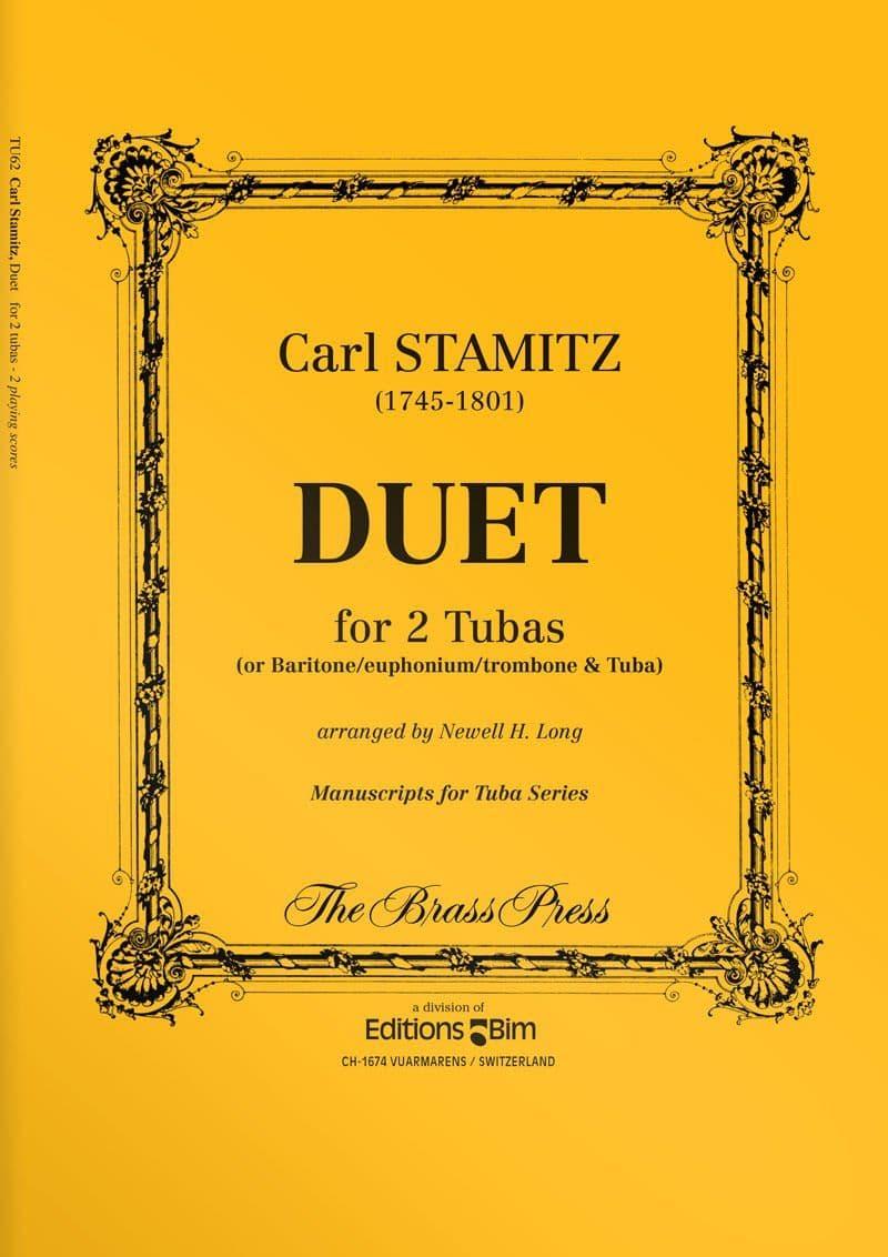 Stamitz  Carl  Duet  Tu62