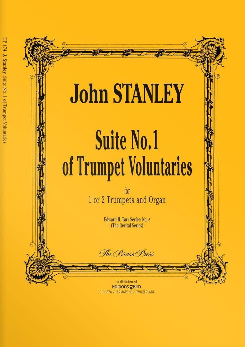 Stanley  John  Suite  No 1  Trumpet  Voluntaries  Tp174