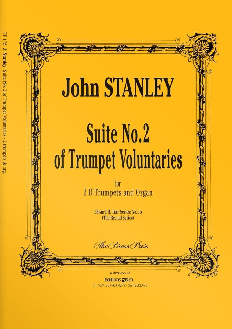 Stanley  John  Suite  No 2  Trumpet  Voluntaries  Tp175