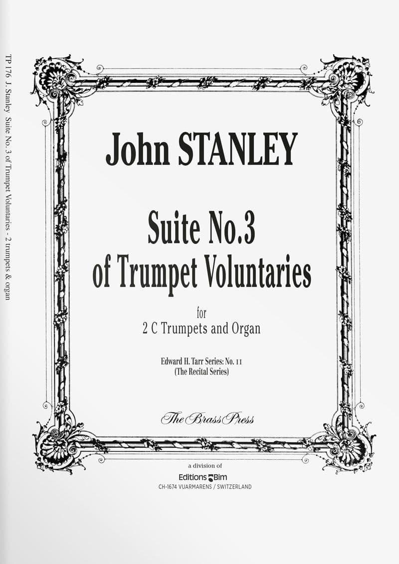 Stanley  John  Suite  No 3  Trumpet  Voluntaries  Tp176