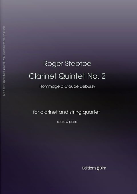 Steptoe  Roger  Clarinet  Quintet  No 2  Cl35