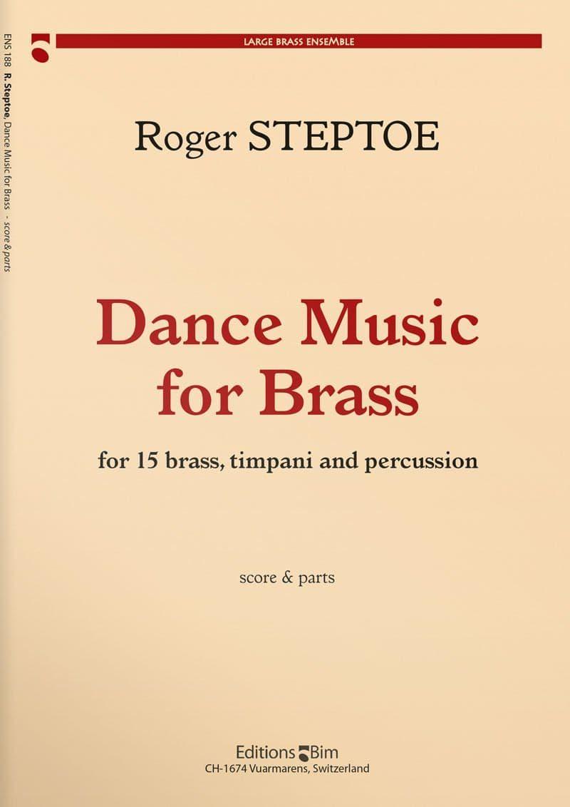 Steptoe  Roger  Dance  Music For  Brass  Ens188