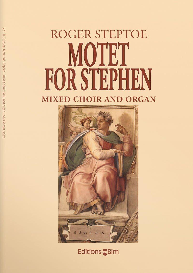 Steptoe  Roger  Motet For  Stephen  V71